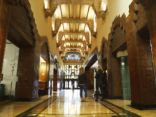 Marine Building Lobby