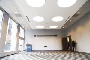 Marine Building Interior and Holding Rooms